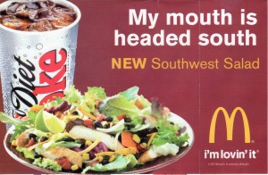 Suggestive McDonalds Ad